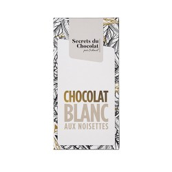 TABLETTE BLANC NOISETTES 100G
