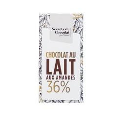 TABLETTE LAIT AMANDES 100G