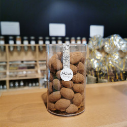 LES AMANDES CACAOTEES 250G